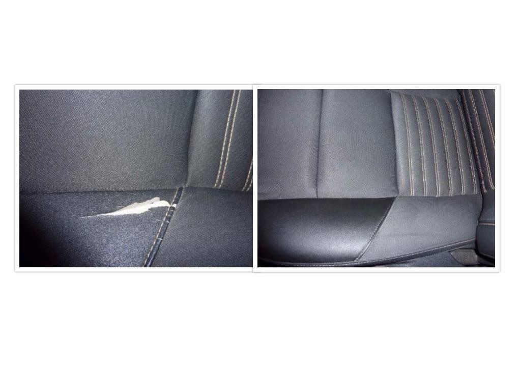Autoledersitz repariert Lederrepair24